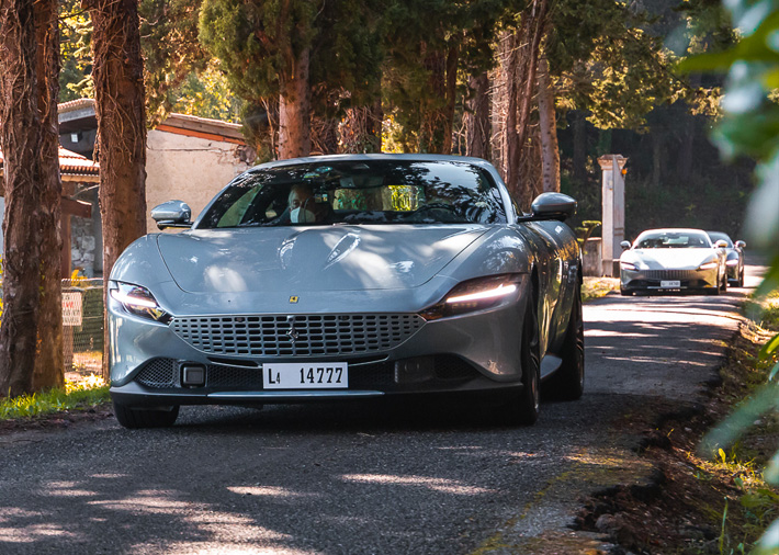 Opio welcomed the Ferrari Roma: 24, 25, 26 October